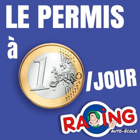 Permis A 1 Euro Par Jour Ecole De Conduite Racing